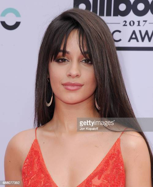 Singer Camila Cabello arrives at the 2017 Billboard Music Awards at TMobile Arena on May 21 2017 in Las Vegas Nevada