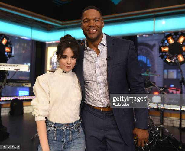 AMERICA Singer Camila Cabello is a guest on Good Morning America Friday January 12 2018 airing on the Walt Disney Television via Getty Images...