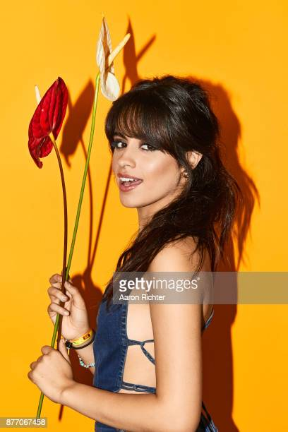 Singer Camila Cabello is photographed for Billboard Magazine on August 20 2017 at the Billboard Hot 100 Music Festival at Northwell Heath at Jones...