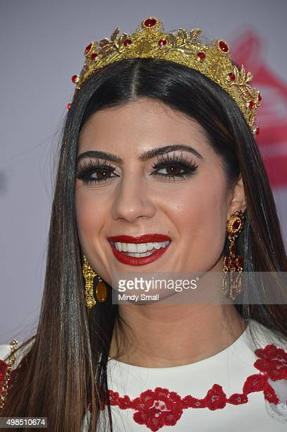 Singer Camila Luna attends the 16th Latin GRAMMY Awards at the MGM Grand Garden Arena on November 19, 2015 in Las Vegas, Nevada.
