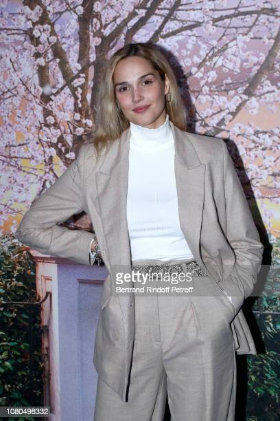 """Singer Camille Lou attends Disney's """"Mary Poppins Returns Paris Gala Screening at UGC Cine Cite Bercy on December 10 2018 in Paris France"""