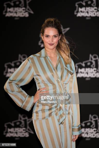 Singer Camille Lou attends the 19th 'NRJ Music Awards' ceremony on November 4 2017 in Cannes France
