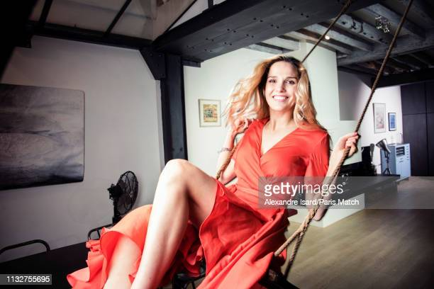 Singer Camille Lou is photographed for Paris Match on February 8 2019 in Paris France