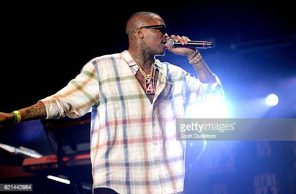 Singer Cam'ron performs onstage during the 923 Real Show at The Forum on November 5 2016 in Inglewood California