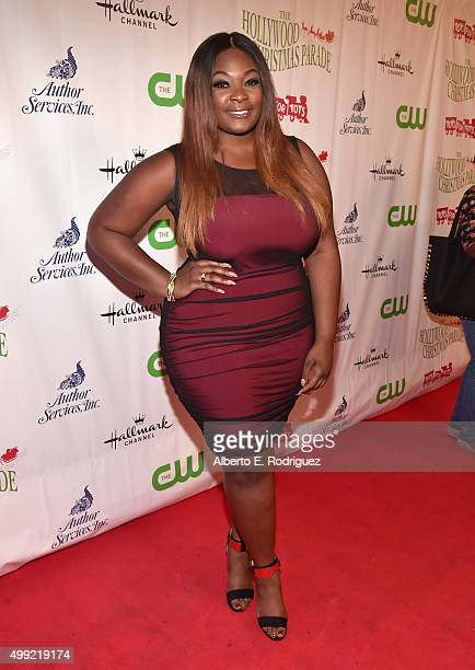 Singer Candice Glover attends 2015 Hollywood Christmas Parade on November 29 2015 in Hollywood California