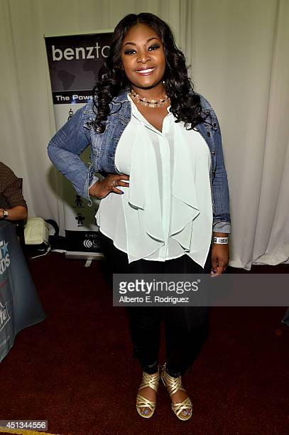 Singer Candice Glover attends day 1 of the Radio Broadcast Center during the BET Awards '14 on June 27 2014 in Los Angeles California