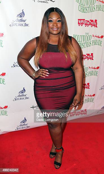 Singer Candice Glover attends the 84th Annual Hollywood Christmas Parade on November 29 2015 in Hollywood California