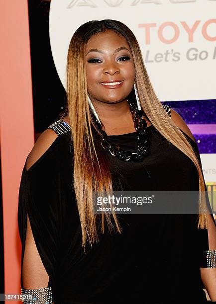 Singer Candice Glover attends the Soul Train Awards 2013 at the Orleans Arena on November 8 2013 in Las Vegas Nevada