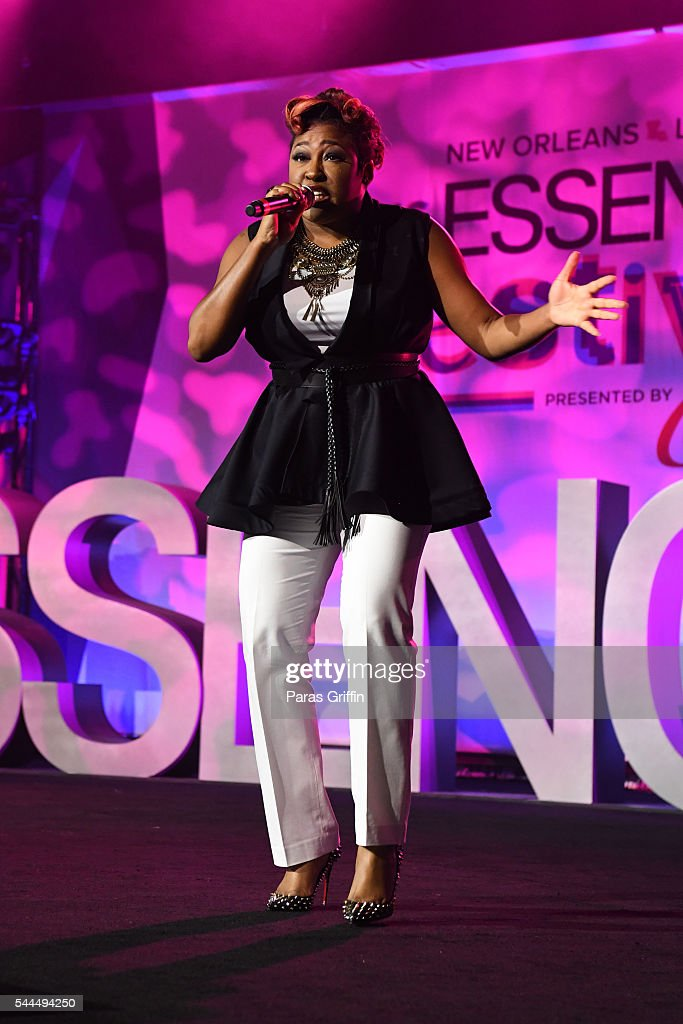 Singer Candy West performs onstage at the 2016 ESSENCE Festival Presented By Coca-Cola at Ernest N. Morial Convention Center on July 3, 2016 in New Orleans, Louisiana.