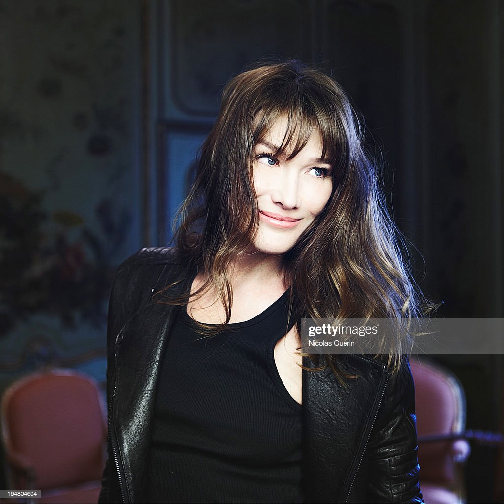 Carla Bruni, Self Assignment, February 2013