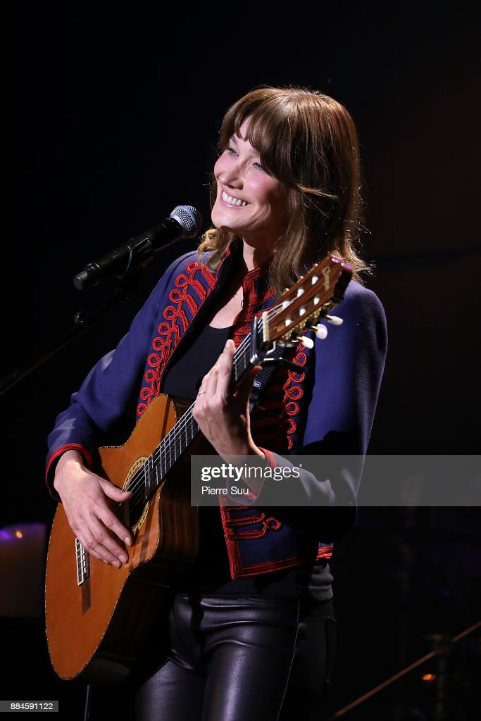 Carla Bruni Performs At Le Trianon In Paris