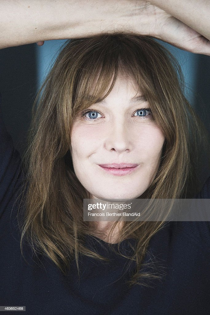 Singer Carla Bruni Sarkozy is photographed for Self Assignment on November 23, 2014 in Paris, France.