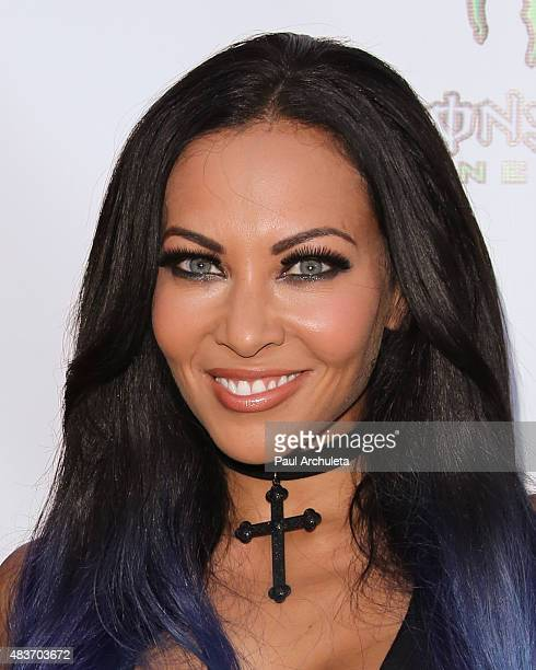 Singer Carla Harvey attends the premiere of Alleluia The Devil's Carnival at the Egyptian Theatre on August 11 2015 in Hollywood California