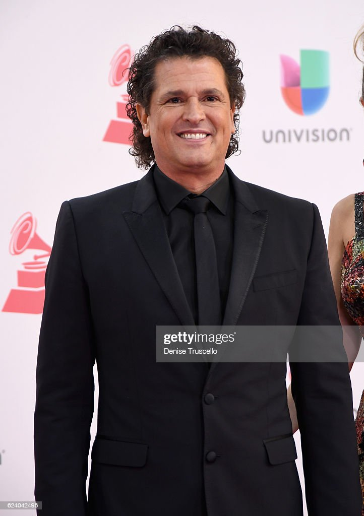 Singer Carlos Vives attends The 17th Annual Latin Grammy Awards at T-Mobile Arena on November 17, 2016 in Las Vegas, Nevada.