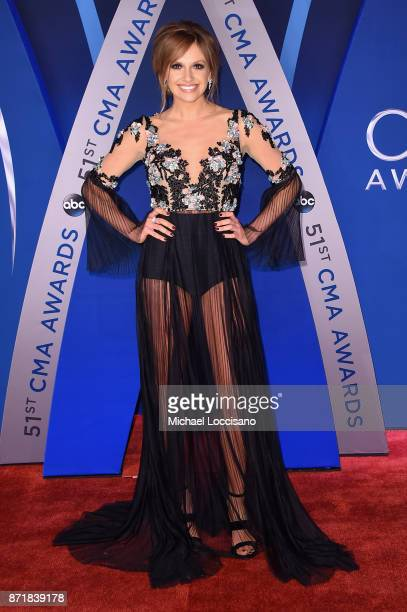 Singer Carly Pearce attends the 51st annual CMA Awards at the Bridgestone Arena on November 8 2017 in Nashville Tennessee