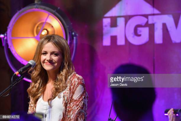 Singer Carly Pearce performs onstage at the HGTV Lodge during CMA Music Fest on June 10 2017 in Nashville Tennessee