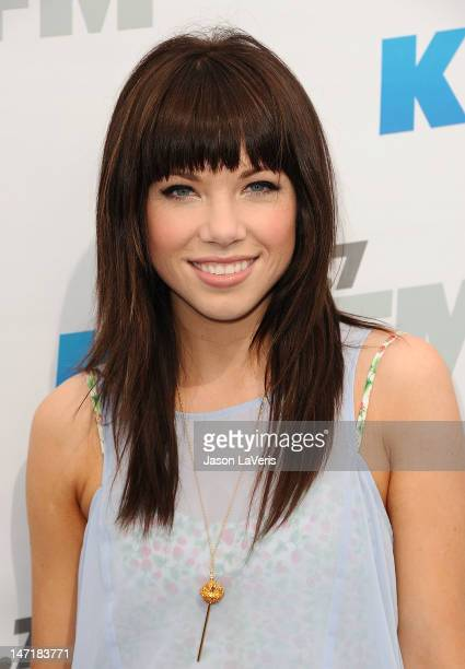 Singer Carly Rae Jepsen attends 1027 KIIS FM's Wango Tango at The Home Depot Center on May 12 2012 in Carson California