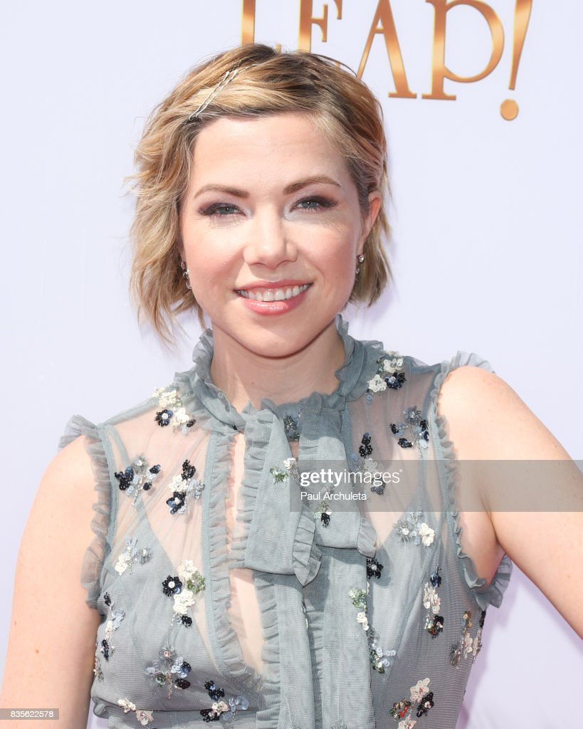 Singer Carly Rae Jepsen attends the premiere of 'Leap!' at the Pacific Theatres at The Grove on August 19, 2017 in Los Angeles, California.