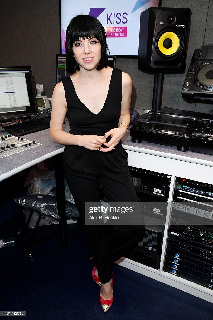 Carly Rae Jepsen Visits Kiss FM