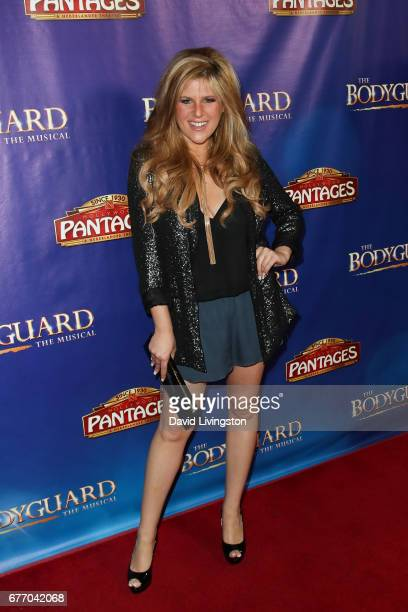 Singer Carly Robyn Green arrives at the premiere of 'The Bodyguard' at the Pantages Theatre on May 2 2017 in Hollywood California
