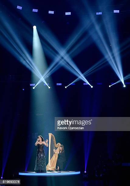 Singer Carly Smithson performs onstage during FOX's 'American Idol' Finale For The Farewell Season at Dolby Theatre on April 7 2016 in Hollywood...