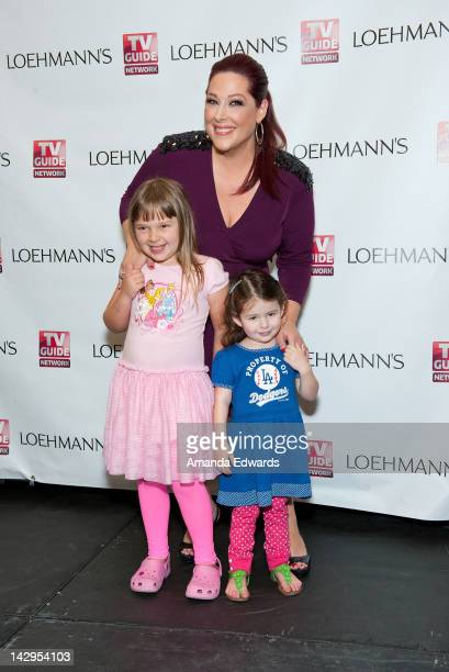 Singer Carnie Wilson and her daughters Lola Sofia Bonfiglio and Luciana Bella Bonfiglio attend the launch party for Wilson Phillips' new album...