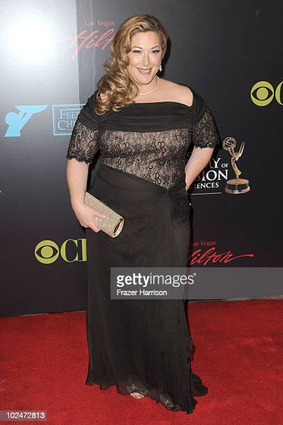 Singer Carnie Wilson arrives at the 37th Annual Daytime Entertainment Emmy Awards held at the Las Vegas Hilton on June 27 2010 in Las Vegas Nevada