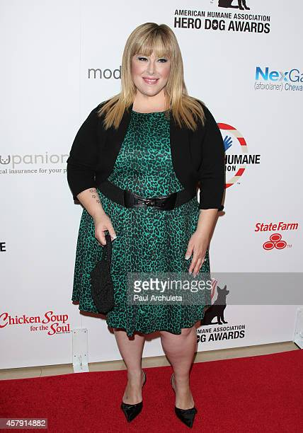 Singer Carnie Wilson attends the 4th annual American Humane Association Hero Dog Awards at The Beverly Hilton Hotel on September 27 2014 in Beverly...