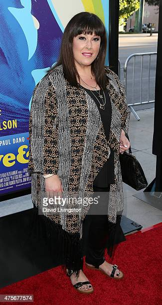 Singer Carnie Wilson attends the premiere of Lionsgate and Roadside Attractions' Love Mercy at the AMPAS Samuel Goldwyn Theater on June 2 2015 in...
