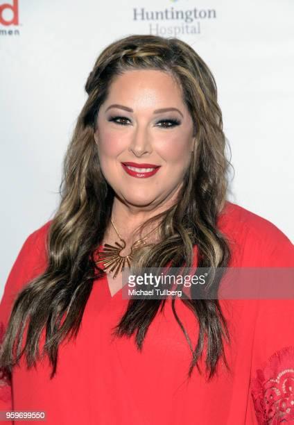 Singer Carnie Wilson of Wilson Phillips attends the 3rd annual Rock The Red Music Benefit presented by the American Heart Association at Avalon on...