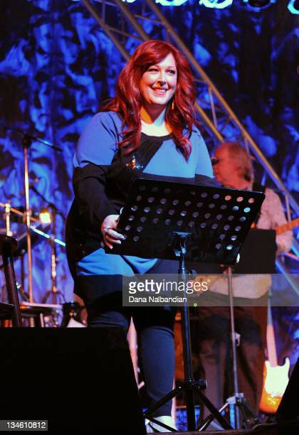 Singer Carnie Wilson of Wilson Phillips performs at Skagit Valley Casino on December 2 2011 in Bow Washington