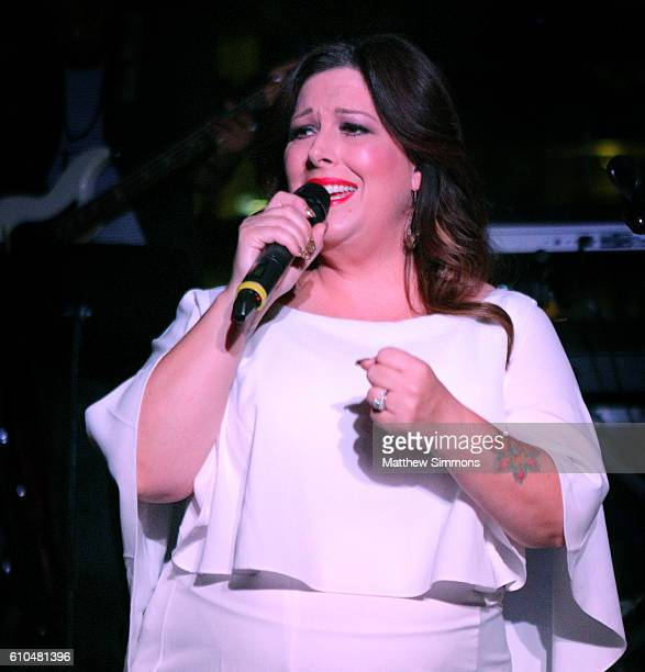 Singer Carnie Wilson performs onstage during The Concert Across America To End Gun Violence at The Standard Hotel on September 25 2016 in Los Angeles...