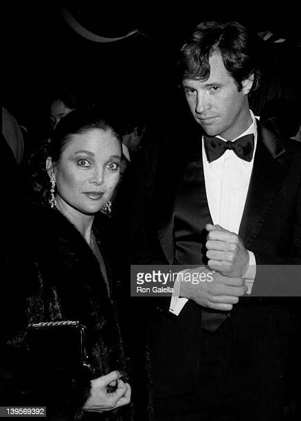 Singer Carol Connors and actor Robert Hays attend Eighth Annual American Music Awards on January 30 1981 at the Shrine Auditorium in Los Angeles...