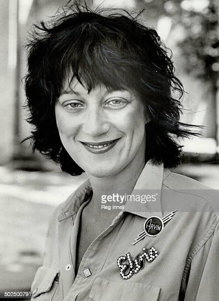 Singer Carol Pope is a button freak Anya Varda has more than 150