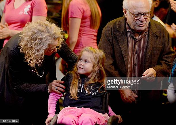 Singer Carole King attends a celebration of Carole King and her music to benefit Paul Newman's The Painted Turtle Camp at the Dolby Theatre on...