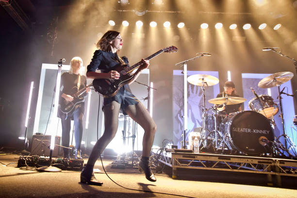 DEU: Sleater-Kinney Perform In Berlin