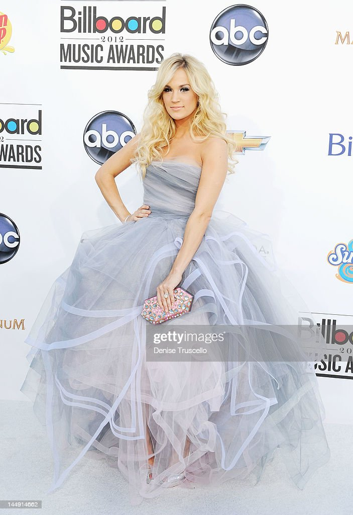 Singer Carrie Underwood arrives at the 2012 Billboard Music Awards at the MGM Grand Garden Arena on May 20, 2012 in Las Vegas, Nevada.