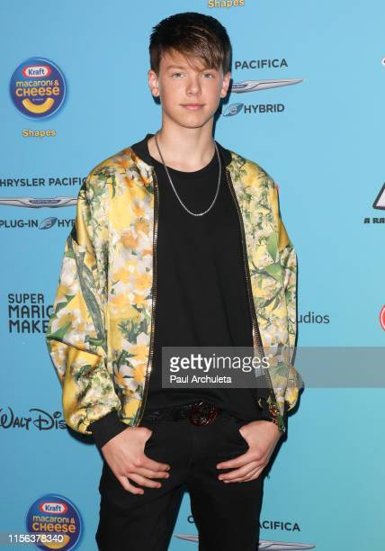 Singer Carson Lueders attends the 2019 Radio Disney Music Awards at CBS Studios Radford on June 16 2019 in Studio City California