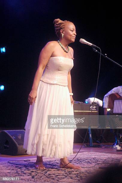 Singer Cassandra Wilson, performs at the North Sea Jazz Festival on July 8th 2005 in Amsterdam, Netherlands.