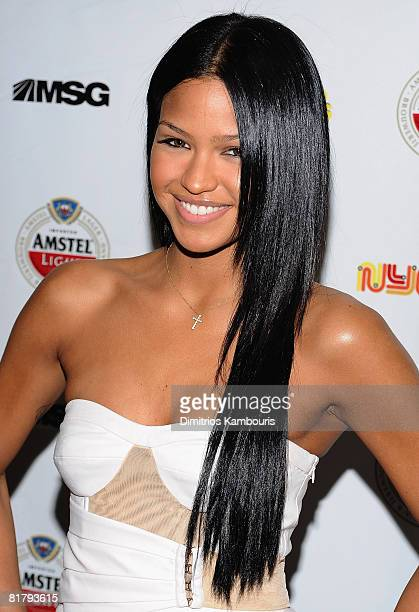 """Singer Cassie attend the launch of Madison Square Garden's new series """"NYC Sound Tracks"""" at Metrazur Restaurant in Grand Central Terminal on July 1,..."""