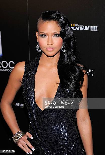 Singer Cassie attends the Sean Diddy Combs' Birthday Celebration Presented by Ciroc Vodka at The Grand Ballroom at The Plaza Hotel on November 20...