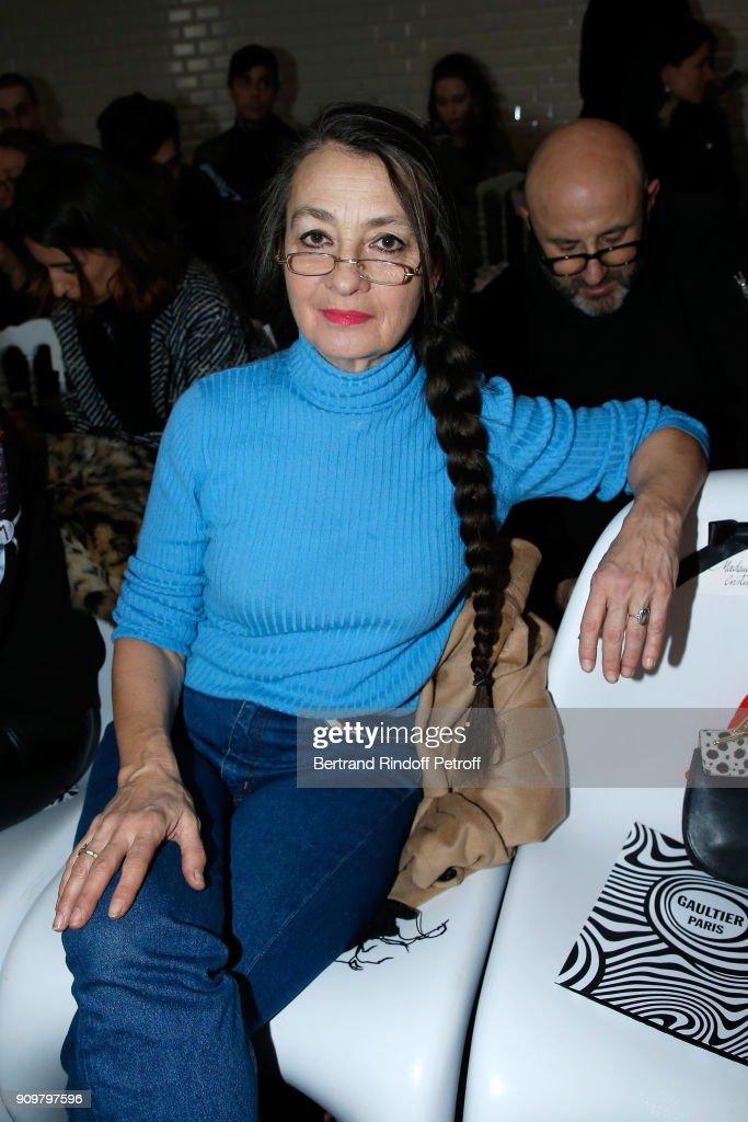 Jean-Paul Gaultier : Front Row - Paris Fashion Week - Haute Couture Spring Summer 2018
