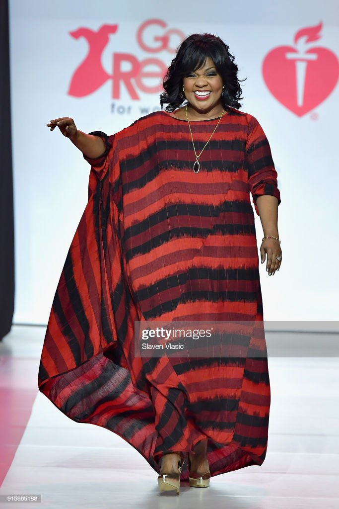 Singer CeCe Winans onstage at the American Heart Association's Go Red For Women Red Dress Collection 2018 presented by Macy's at Hammerstein Ballroom on February 8, 2018 in New York City.
