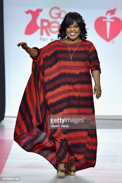 Singer CeCe Winans onstage at the American Heart Association's Go Red For Women Red Dress Collection 2018 presented by Macy's at Hammerstein Ballroom...