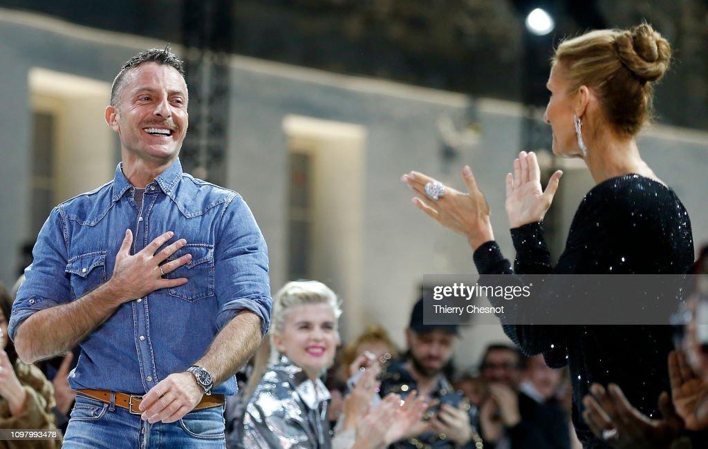 Alexandre Vauthier : Runway - Paris Fashion Week - Haute Couture Spring Summer 2019 : News Photo