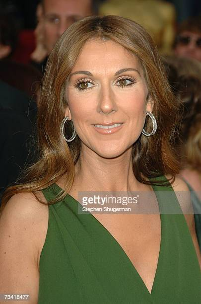 Singer Celine Dion attends the 79th Annual Academy Awards held at the Kodak Theatre on February 25 2007 in Hollywood California