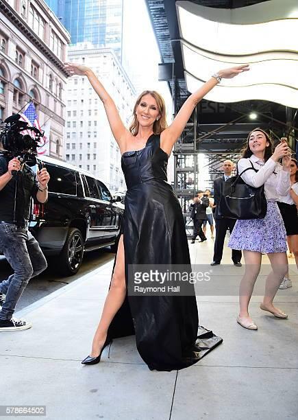 Singer Celine Dion is seen in Midtown on July 21 2016 in New York City