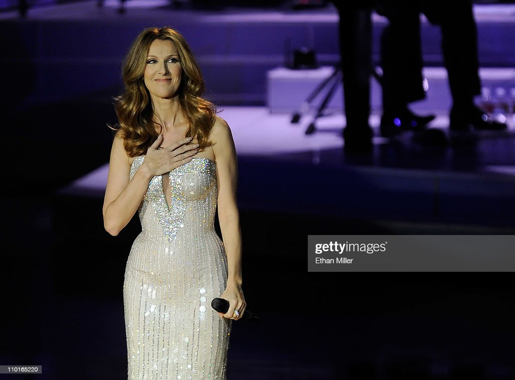 Celine Dion Returns To The Colosseum At Caesars Palace : News Photo