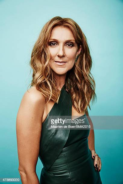 Singer Celine Dion poses for a portrait at the 2015 Billboard Music Awards on May 17 2015 in Las Vegas Nevada