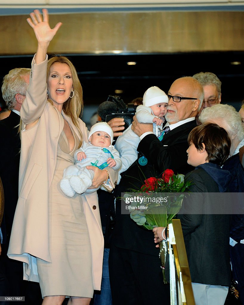 Celine Dion Arrives At Caesars Palace In Preparation For New Show